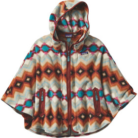 Patagonia W's Lightweight Synchilla Poncho Timber Twist: Cinder Red